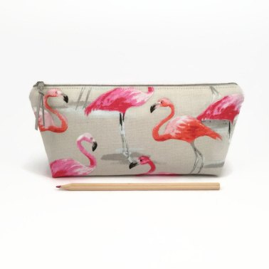 Pink Flamingo Pencil Holder